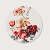 Muurcirkel flowers