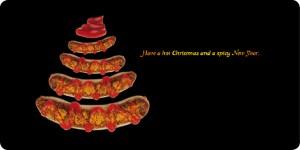 Weihnachtskarte bratwerk