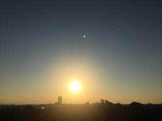 Sonnenaufgang Kölner Süden