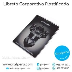 LIBRETAS PUBLICITARIAS CORPORATIVAS EMPRESAS TAPA DURA GRAFPERU LIMA PERU