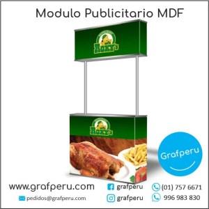 Modulos de MDF Campañas Corporativos Publicitarios Grafperu Lima Peru