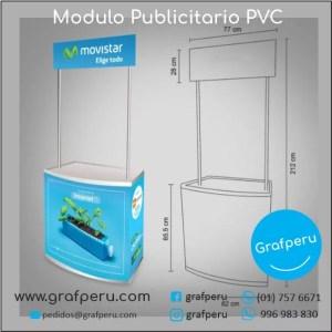 Modulos de PVC Campañas Corporativos Publicitarios Grafperu Lima Peru
