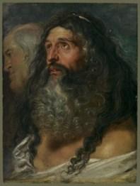 Rubens, Study of Two Heads, MMA