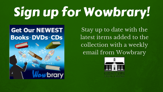 Sign up for Wowbrary!