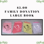 $5 donation - large book