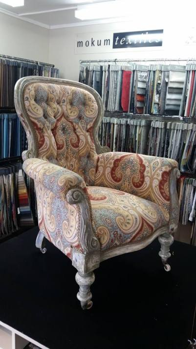 restored antique with new sprung seat topped with memory foam $3250