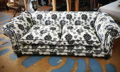 Liana fabric sofa