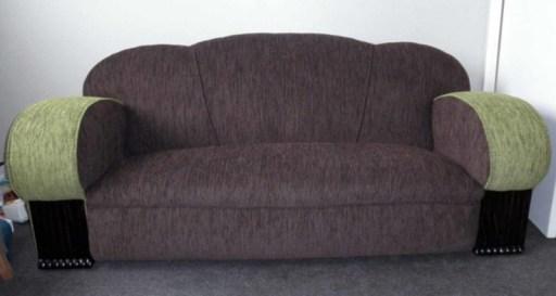 Art Deco settee