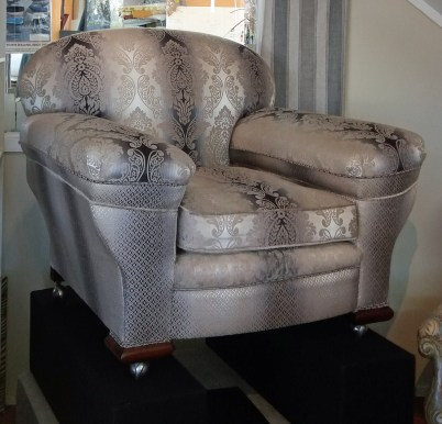 3 seater & 2 armchairs, of exceptional quality. c 1900 pieces, completely restored 3 pc suite$13,600