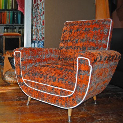 SOLD Groovy retro chair $1200