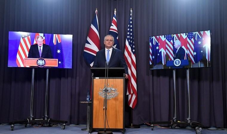 US/UK/Australia new trilateral security partnership
