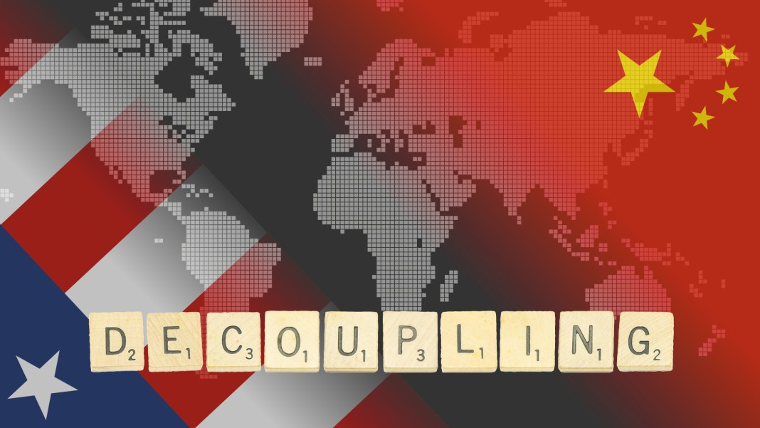 """US DISOWNS """"DE-COUPLING"""" POLICY"""