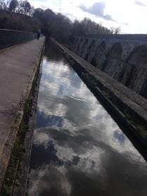 Chirk's famous aqueduct