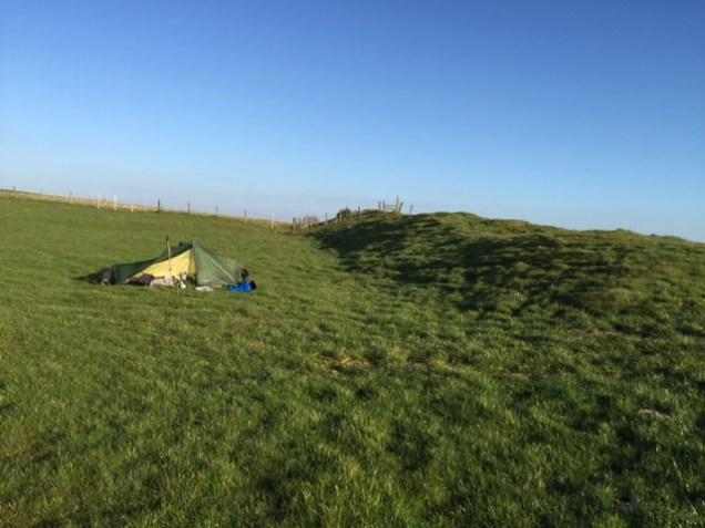 Shropshire camping