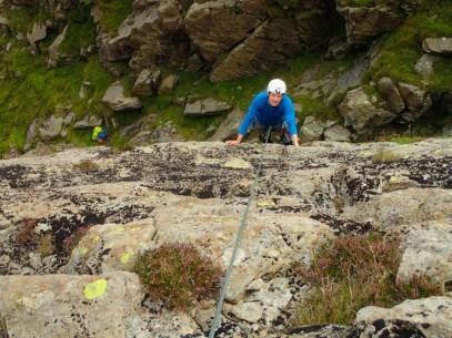 Alan enjoying the slabs of Tranquillity