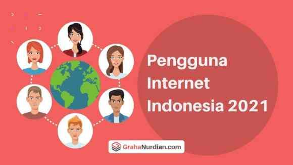 Data E-commerce Indonesia 2021  Pengguna Internet