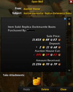 Darkmantle boots SOLD