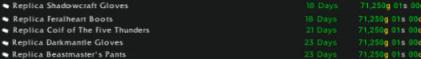 Replica Transmog sales 18.05.21