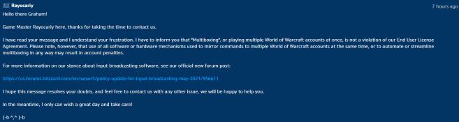 Blizzard's Support Ticket (2)