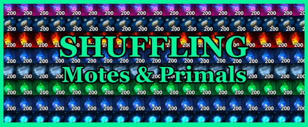 Shuffling Motes & Primals