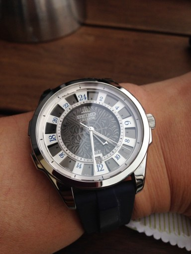 """This Japan-only Credor is not only the rare GMT model but also says """"Seiko"""" on the dial, unlike most!"""