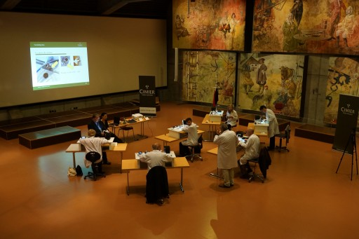 A similar workshop at the museum run by Cimier