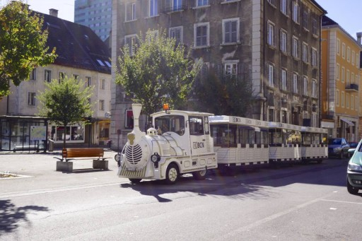 Even the public transit in Le Locle is something special!