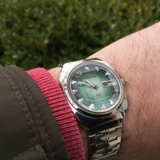 I love 1970's Seiko style but it's not for everyone!