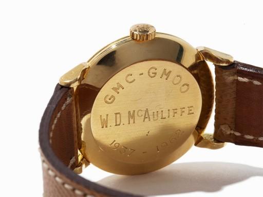 I wonder who W. D. McAuliffe was