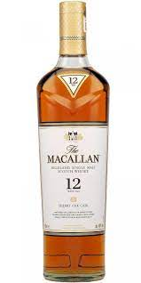 Macallan 12 Year Single Malt Scotch Whisky