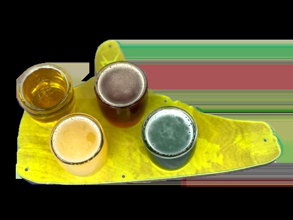 Grails Beer Flight (4 Beers)