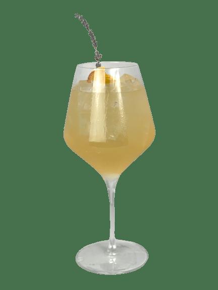 Peach & Orange Blossom Spritz