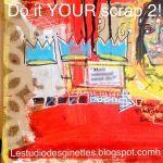 En exclu pour.vous ici même un aperçu de Ce qui vous attend dans votre atelier#doityourscrap2 #scrapbooking #mixedmedia pour me rejoindre aux côtés de @carol_and_co  et de @francoise.melzanilaurenti  sur lestudiodesginettes..blogspot.com