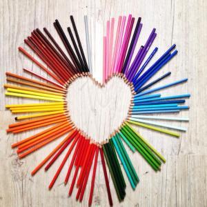 N3 #coeurséphémères #littlemomentsapp #flow #instamoment #crayon #coeurséphémèresgraindevoie
