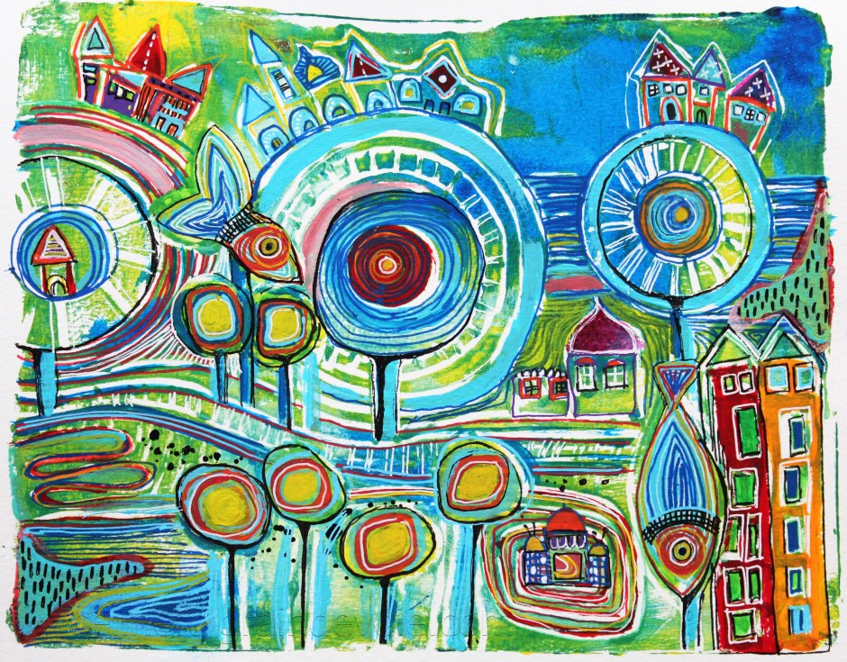 AJ2016 when hundertwasser inspired me