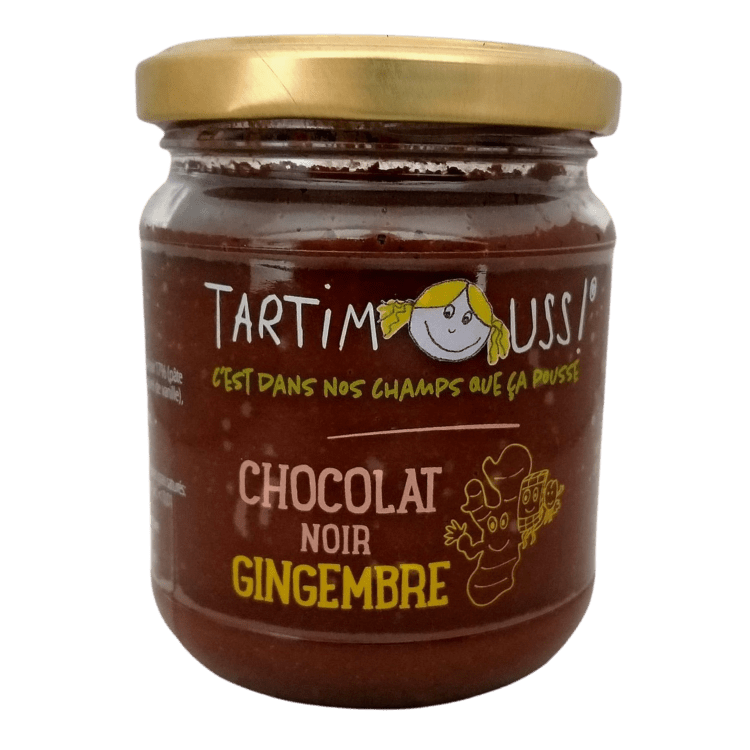 Tartimouss! chocolat noir gingembre