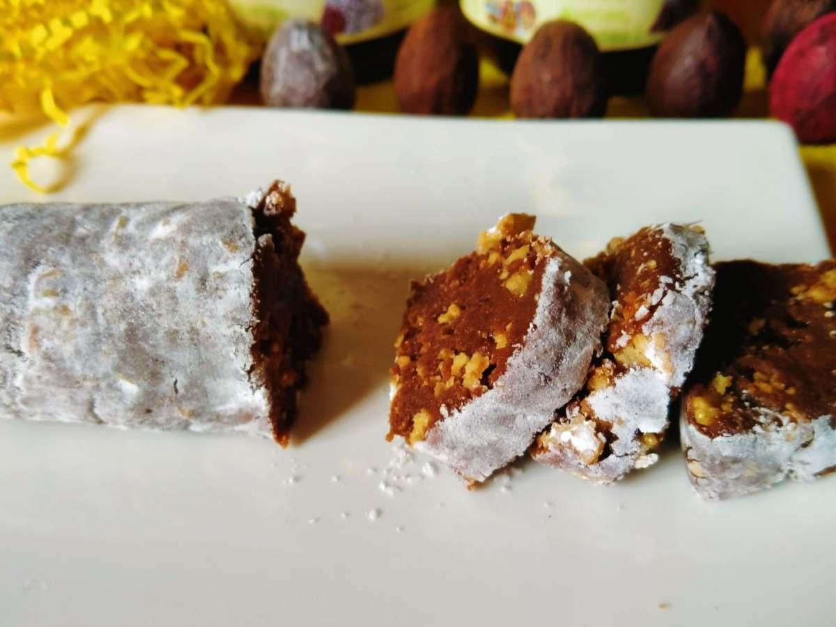 Saucisson cacaoté