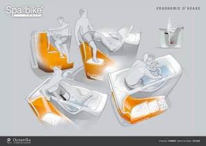 Ergonomie Aquabiking