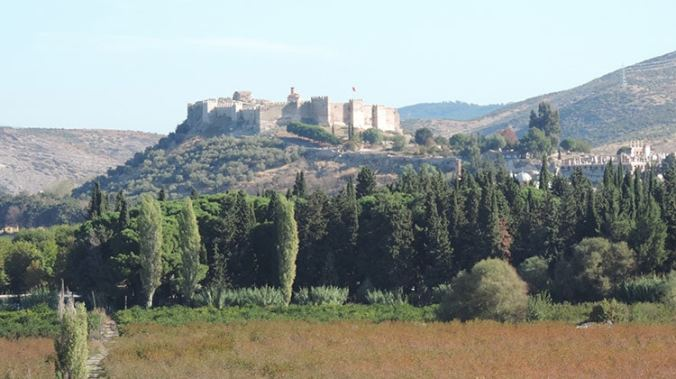 forteresse de Selçuk près d'Izmir en turquie
