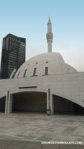 mosquée moderne yesilvadi istanbul turquie extérieur