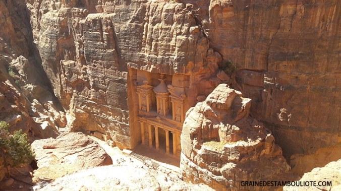 khazneh ou trésors tombeau nabatéen de Pétra Jordanie