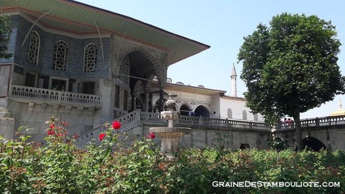 Palais ottoman de topkapi à Istanbul