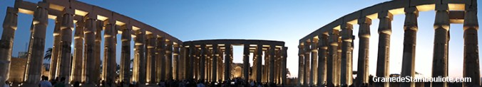 temple de Louxor, Thèbes, Egypte
