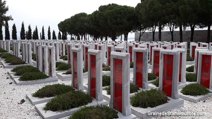 Cimetière Turc sur la Péninsule de Gallipoli, Bataille des Dardanelles, pendant la 1ère Guerre Mondiale