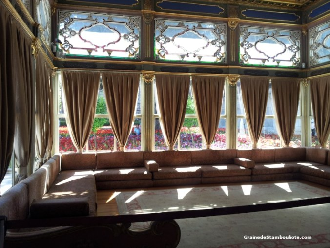 Palais Topkapi, Istanbul, Ottoman, Kiosque à terrasse, Tulipes