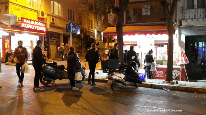 annonce du couvre-feu, confinement week-end, istanbul, turquie covid, cihangir