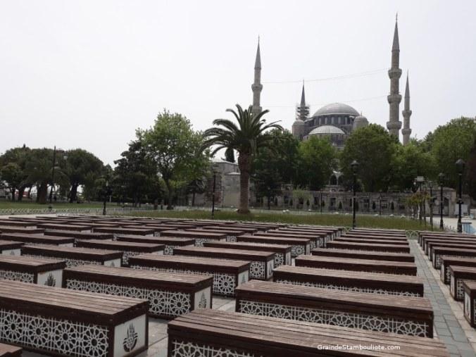 mosquée bleue sultanahmet istanbul