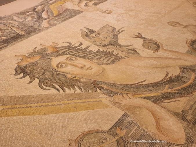 mosaïque musée archéologique Antakya, Hatay, Turquie, Tethis