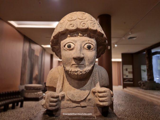 Suppiluliuma, Roi Hittite, musée archéologique d'Antakya, Hatay, Turquie