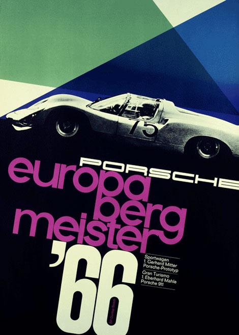 vintage porsche posters